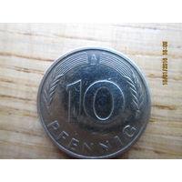 10 pfennig A 1990