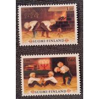 Финляндия. 1980 г. Рождество **