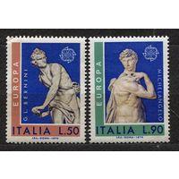 Европа CEPT. Искусство. Микеланджело. Италия. 1974. Полная серия 2 марки. Чистые