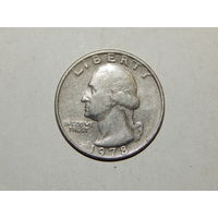 США 25 центов  1978