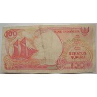 Индонезия 100 рупий 1992 г. (a)