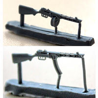 """ZEBRANO"" ZA35208.Пистолет-пулемет ППШ-41 (поздняя версия), 6 шт."