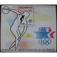 Мозамбик Олимпиада 1984г.