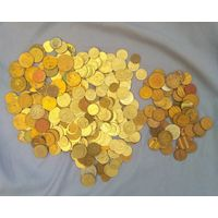 Монеты+жетоны.