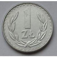 Польша 1 злотый, 1988 г.