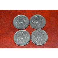 Мальта 5 центов 1991