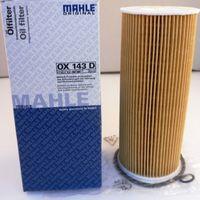 Фильтр масляный MAHLE OX143D для Audi A3/A4/A6,VW Bora/Passat 1.9TDi 96>