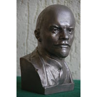 Бюст Ленин   18 см