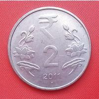 63-11 Индия, 2 рупии 2011 г.