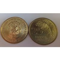 Гвинея 25 франков 1987 /из ролла/