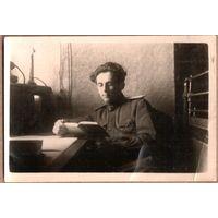 Фото офицера из ГСВГ. 1948 г. 6,5х9 см