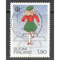 Финляндия Европа-Септ 1989 год дети