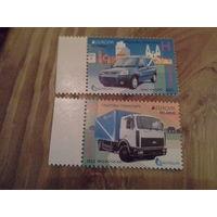 Беларусь 2013 серия почтовый  транспорт