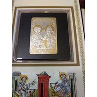 100 динаров 2014 г. Македония-Св. Кирилл и Мефодий