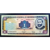 РАСПРОДАЖА С 1 РУБЛЯ!!! Никарагуа 1 кордоб 1995 год UNC