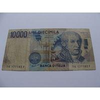 Италия. 10000 лир 1984 год
