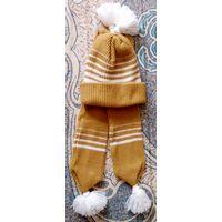 Шапка и шарфик