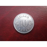 10 аурар 1970 год Исландия