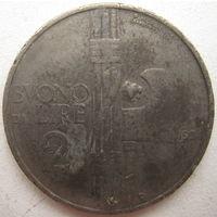 Италия 2 лиры 1924 г. (g)