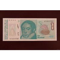 Аргентина 1 аустралей 1988 UNC