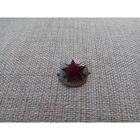 Кокарда ВОХР СССР тяжелый металл, составная 50-е