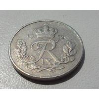 10 эре Дания 1952 г.в. KM# 841.1, 10 ORE, из коллекции