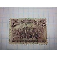 США  1892 год. Колумб