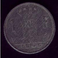 1 Франк 1945 год Бельгия
