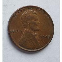 США 1 цент, 1945 3-5-28
