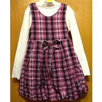 Р.122 Нарядное стильное платье-сарафан