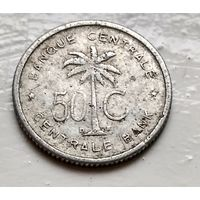 Бельгийское Конго (Руанда-Урунди) 50 сантимов, 1954  2-1-28