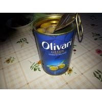 Оливки Olivari Green без косточек оливари грин
