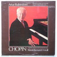 LP Artur Rubinstein - Chopin - Klavierkonzert F-moll, Andante Spianato Und Grande Polonaise (1975) Romantic