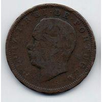 КОРОЛЕВСТВО ПОРТУГАЛИЯ  20 РЕАЛОВ 1883