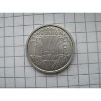 Реюньон 1 франк 1948г.km6.1