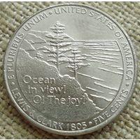 5 центов 2005 США