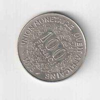 100 франков 1975 года Западная Африка