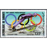 Джибути зимняя Олимпиада 1988г.