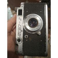 Фотоаппарат ФЭД 2. Индустар 22