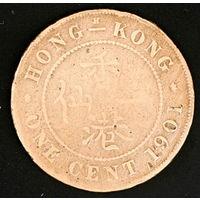Британский Гонконг 1 цент 1901