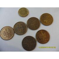 Набор монет Польши - 7 шт (цена за все) из коллекции