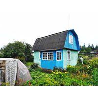 Дача в садовом товариществе Полиграфист.Минский район, 22 км от МКАД.  Дом 1994 года постройки.