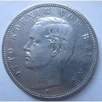 Германия. 5 марки 1907. Серебро. 437