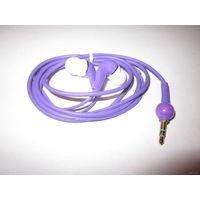 Фиолетовые стильные наушники! А+К+Ц+И+Я!!!