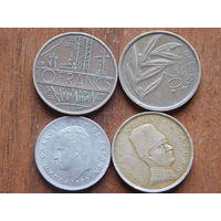 Четыре монеты за 1 рубль 16