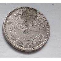 """Османская империя 10 пар, 1327 (1909) """"Reshat"""" справа цифра """"V"""" (7) 5-1-6"""