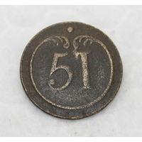 ВА , Франция по 1812 году  , номер 51 , пуговица ,