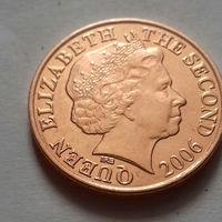 1 пенни, Джерси 2006 г., AU
