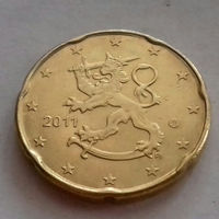 20 евроцентов, Финляндия 2011 г., AU