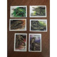 Танзания 1993. Рептилии. Полная серия